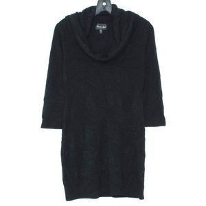 3/$20 Connected Dress Sweater Tunic Cowl Petite J2